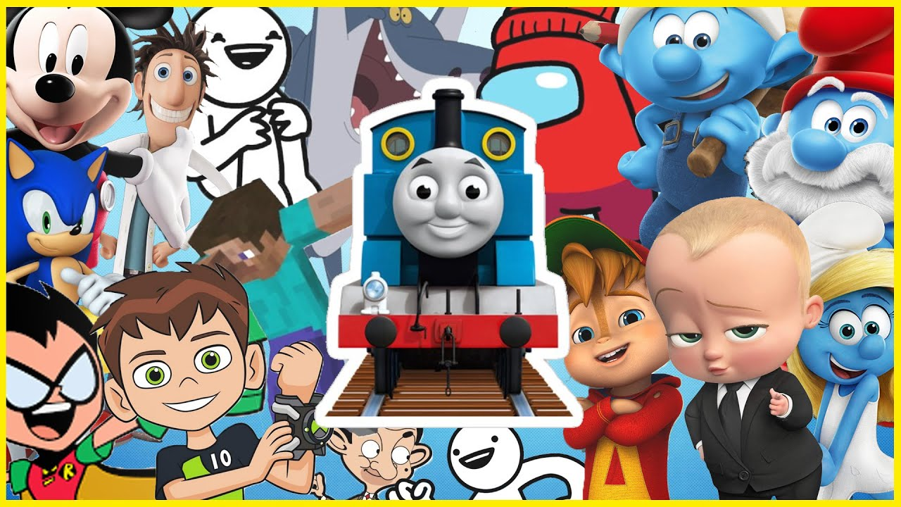 Thomas The Tank Engine - Animated Films and Movies COVER 2