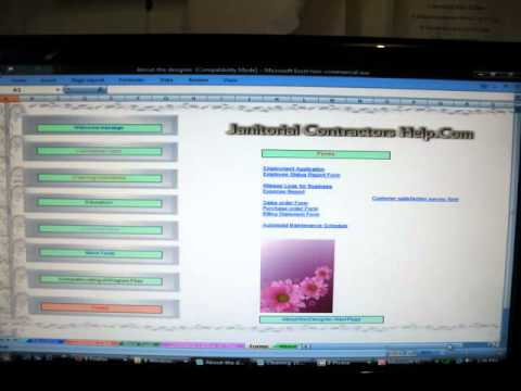 Janitorial Software Bidding calculator-Free Download - YouTube