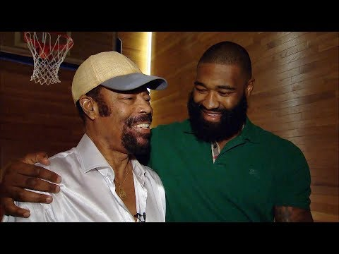 """Hanging Out with Walt """"Clyde"""" Frazier & Kyle O'Quinn 