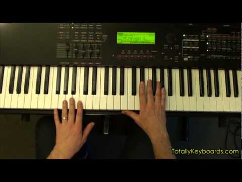Cold As Ice Foreigner Keyboard Piano Lesson Sample Youtube