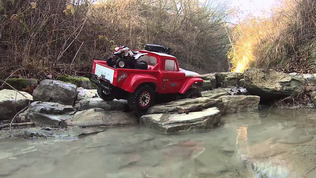 Rc Car Action >> traxxas slash 4x4 scale crawler conversion - YouTube