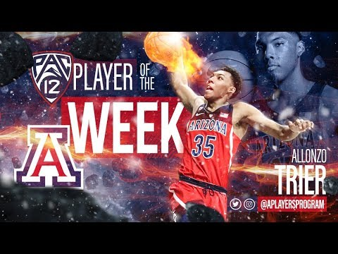 Allonzo Trier:  Pac 12 Player of the Week