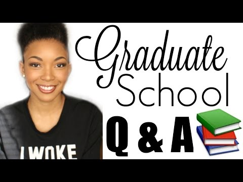 Graduate School Q & A / How I Pay For School In New York | Brittany Daniel