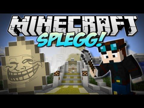 Minecraft | SPLEGG! W/FaceCam | Minigame