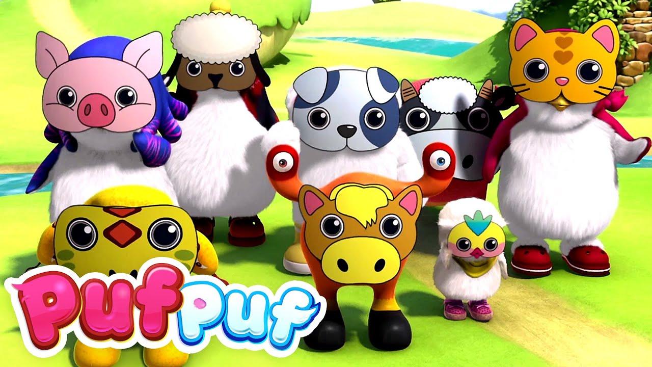 Parada Animalelor - Cântece educative pentru copii de grădiniță Puf Puf