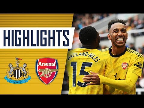 AUBA'S OFF THE MARK! | Newcastle United 0 - 1 Arsenal | Goals & Highlights