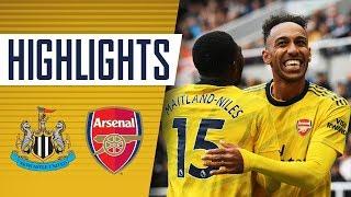 AUBA'S OFF THE MARK! | Newcastle United 0 - 1 Arsenal | Goals & highlights