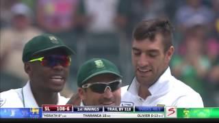 South Africa vs Sri Lanka - 3rd Test - Day 3 - Session 1
