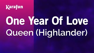 Karaoke One Year Of Love - Queen *
