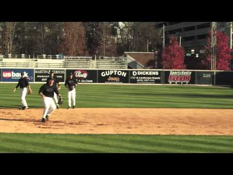 Rundown Drills: Vanderbilt Baseball coach Tim Corbin uses ATEC Machines