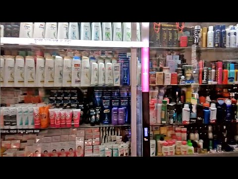 Wholesale Unilever product & Other Cosmetic Store Display | Cosmetic Display Design