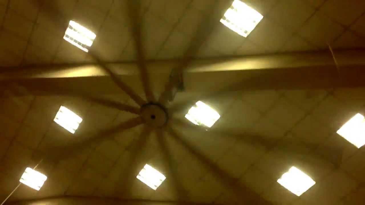 Giant ceiling fan youtube giant ceiling fan aloadofball Choice Image