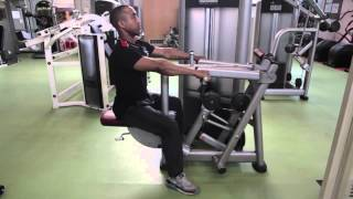 Seated row - Bloomsbury Fitness Exercise Videos