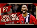 John Wall Offense Highlights Montage 2016/2017 (Part 1) - CRAZY Passes, EPIC Drives!