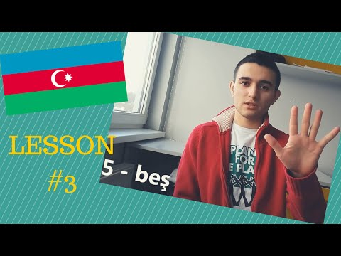 Learn Azerbaijani - Numbers (1-20)
