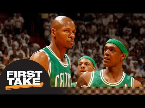 Ray Allen says Rajon Rondo told Celtics he 'carried' team to 2008 title  First Take  ESPN