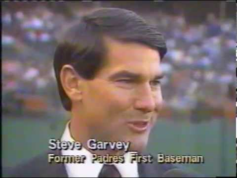 finest selection 8f455 a15c6 Steve Garvey Has First Jersey Retired for San Diego Padres