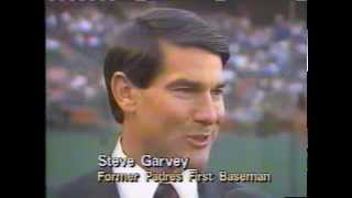 Steve Garvey Has First Jersey Retired for San Diego Padres