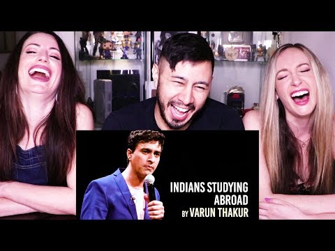INDIANS STUDYING ABROAD | Varun Thakur | Stand Up | Reaction!