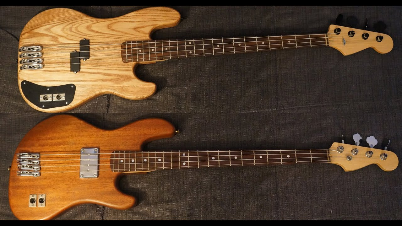 ash vs mahogany bass guitars with moving coil transducer system youtube. Black Bedroom Furniture Sets. Home Design Ideas