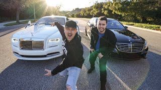 Rolls Royce VS Vehicle Virgins Mercedes AMG! thumbnail