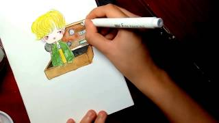 Video Draw chibi Newt Scamander Came Out of His Suitcase ll Fantastic Beasts and Where to Find Them download MP3, 3GP, MP4, WEBM, AVI, FLV Desember 2017