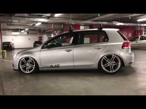 golf 6 air ride on audi r8 wheels 19 11j Golf 4 With R8 Audi Rims audi r8 v10 plus on vossen forged