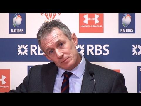 Wales 16-21 England - Rob Howley Full Post Match Press Conference - Six Nations
