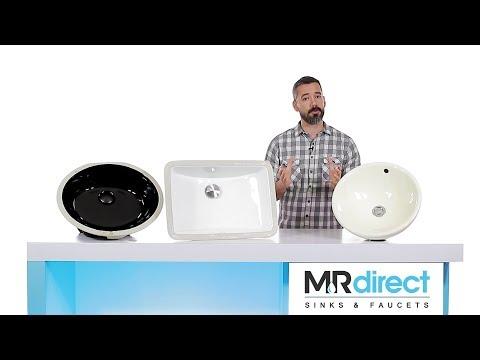 MR Direct | Porcelain Bathroom Sinks