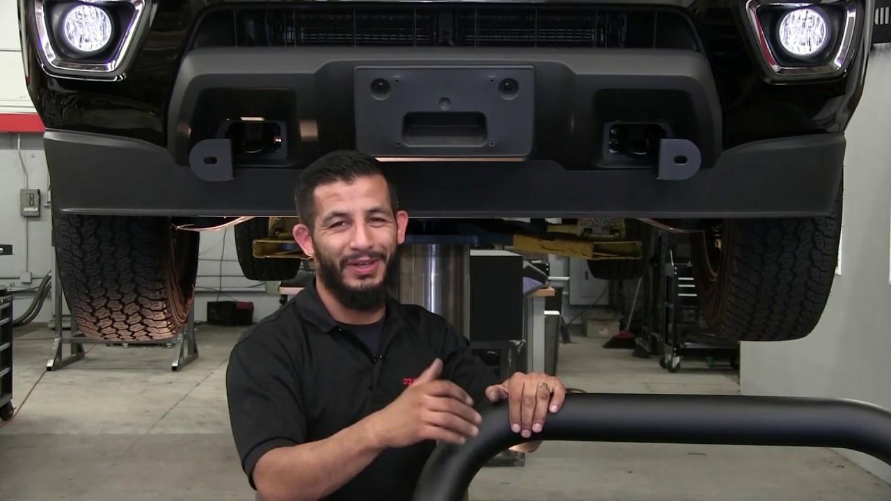 Go Rhino Rc2 Lr Bull Bar Installation On 2015 Chevy