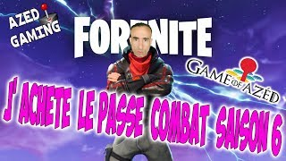 🔴🎥 LIVE/GAMING - I'm the PASSE COMBAT SAISON 6 FORTNITE - Azéd Stories