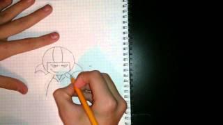 как нарисовать кика бутовски видео