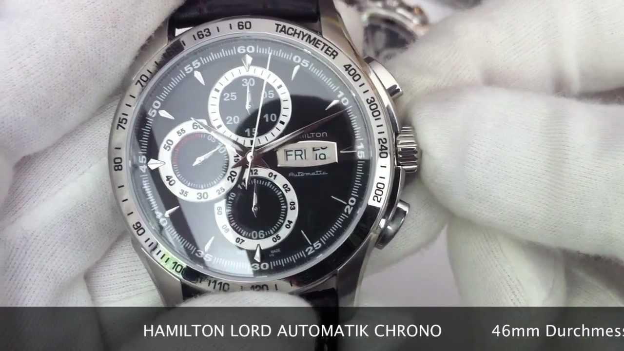 Hamilton Lord Automatik Chrono H32816531 H32816131 Www Olfert Co