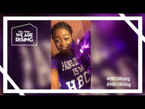 #HBCURising Campus Tour Alumni Shoutout Video