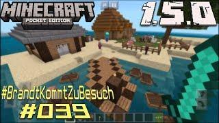 Minecraft PE 1.5.0 - ★ BrandtKommtZuBesuch #039 ★ - Coole Insel von Luckerin - nice Bauten