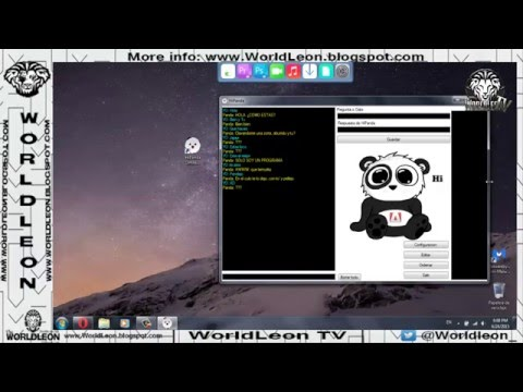 HiPanda: Chat Robot [PC] [SimSimi Para PC] [Alternativa De SimSimi]