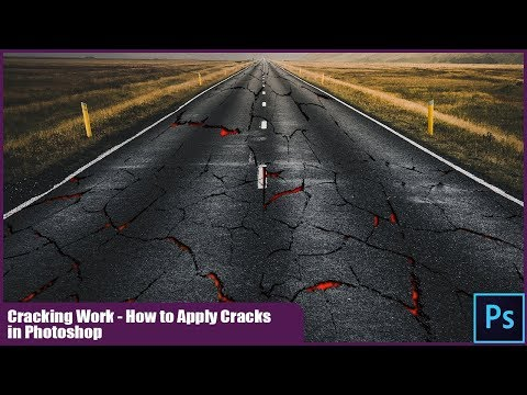 Cracking Work - How To Apply Cracks In Photoshop CC2019