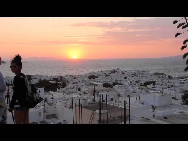Mykonos - Sunset with Rihanna