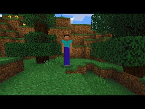 Long Legged Steve in Minecraft (scary sighting)