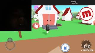 I see the hacker playing with me in roblox