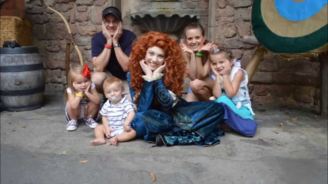 Merida Meet And Greet At The Magic Kingdom At Walt Disney