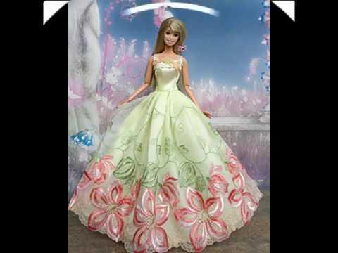 112 BEAUTIFUL BARBIE DRESSES/VESTIDOS HERMOSOS PARA MUÑECAS