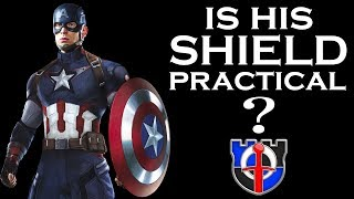 Is Captain America's shield an effective weapon by itself?