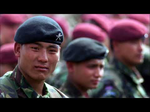 Gurkha Regiments in British Army