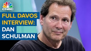 Watch CNBC's full Davos interview with PayPal CEO Dan Schulman