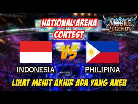 Zilong Ahli Curi Turret dan Lihat Menit Akhir Indonesia vs Philipina National Arena Contest 29102017