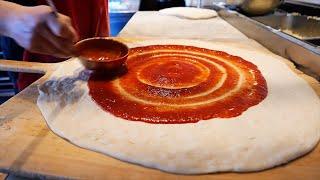 Нью-Йорк уличная забегаловка - Итальянская пицца Америка
