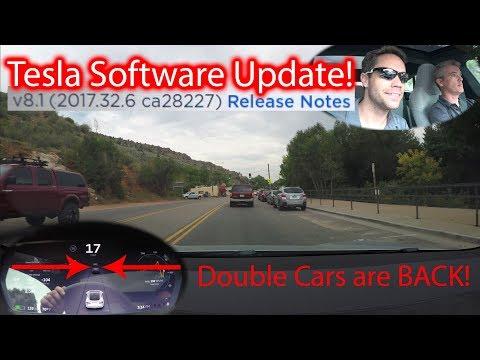 Tesla Update! v8.1 (2017.32.6 ca28227)