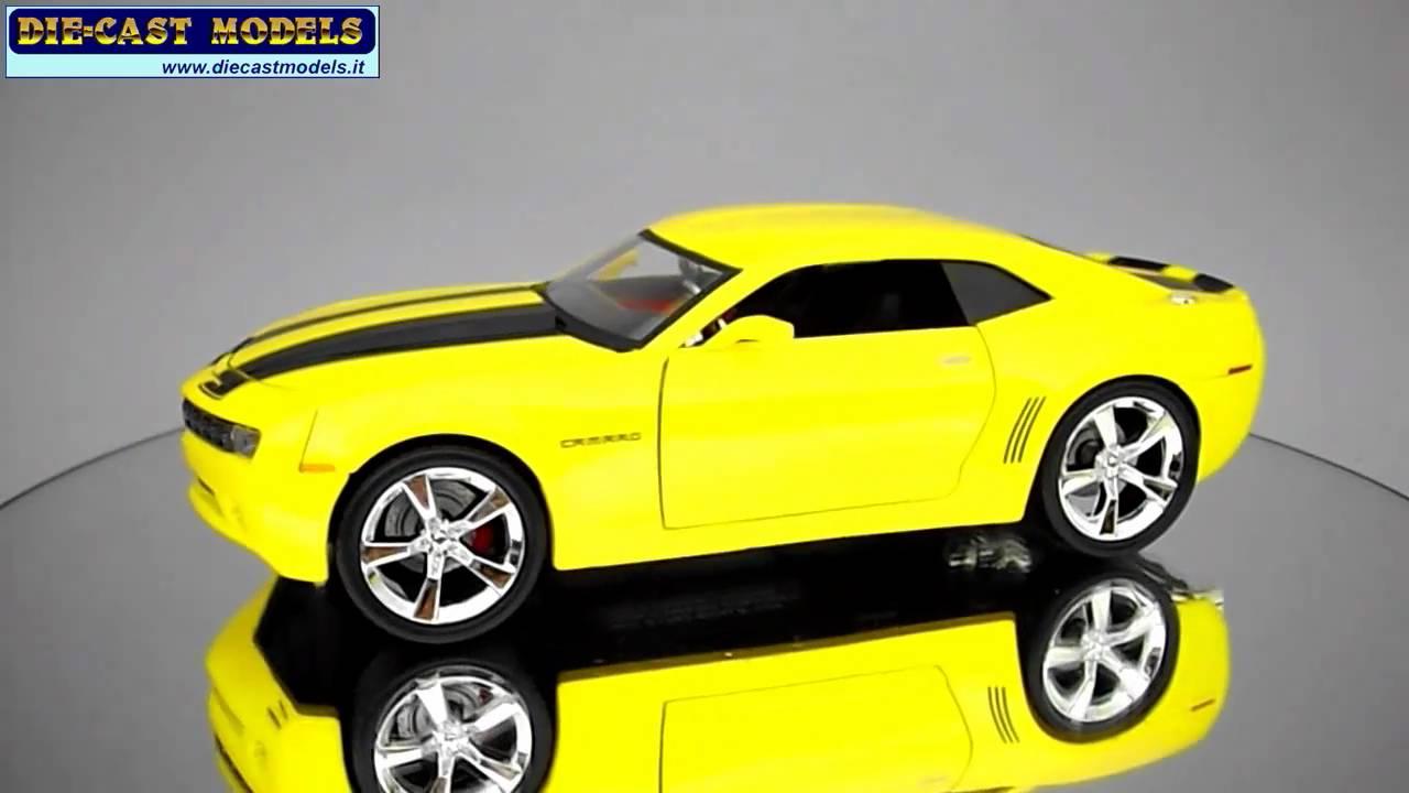 Camaro chevy camaro 2006 : Chevy Camaro Concept 2006 - 1:24 - Jada Toys - YouTube