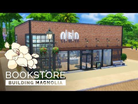 Sims 4  |  Speedbuild  |  Building Magnolia - Bookstore